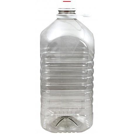 Demi John - 5 Litre Plastic with Cap and Rubber Seal (for airlock)