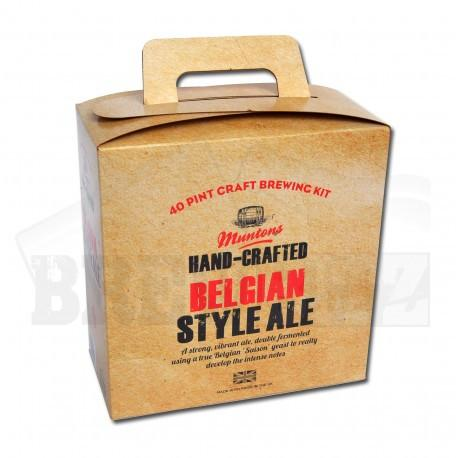 Muntons Hand Crafted - Belgian Ale - 36 Pint Beer Kit