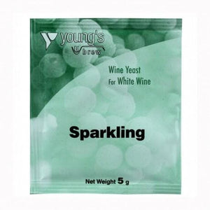 youngs-sparkling-champagne-wine-yeast-5g for sale
