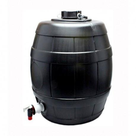 5 Gallon Brown Keg Barrel with Vent Cap