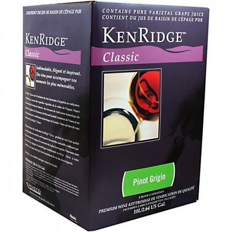 Kenridge Classic - Pinot Grigio - 30 Bottle wine kit