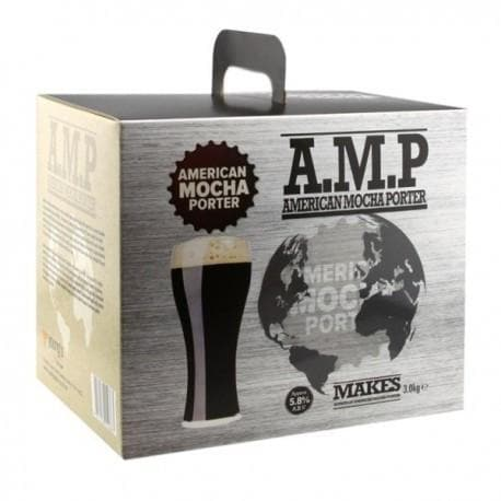 American Ales - American Mocha Porter A.M.P - 40 Pint Beer Kit