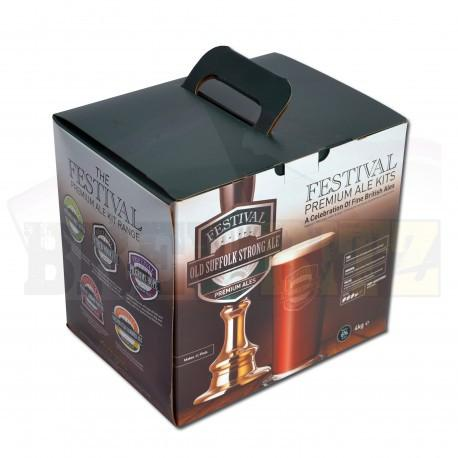 Festival Ales - Old Suffolk Strong - 40 Pint Beer Kit