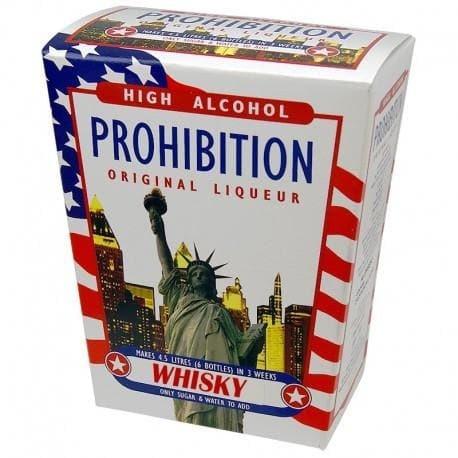Whisky Flavour - Prohibition High Alcohol Spirit Kit - Original