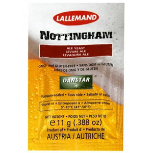 danstar-nottingham-beer-yeast-11g-sachet for sale