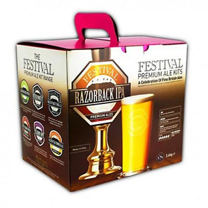 festival-ales-razorback-ipa-40-pint-beer-kit for sale