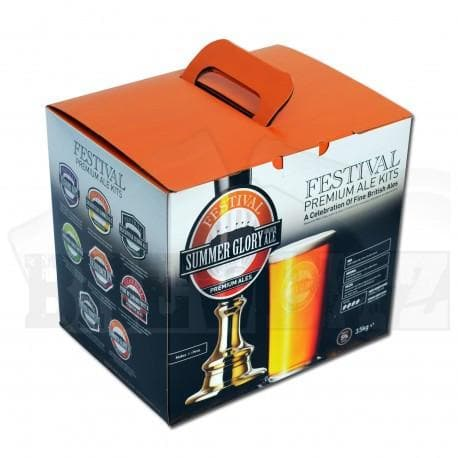 Festival Ales - Summer Glory Golden Ale - 40 Pint Beer Kit
