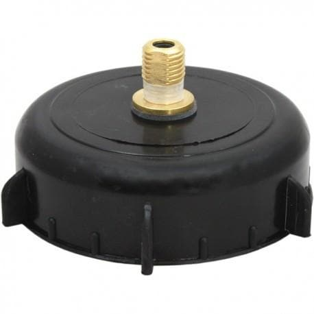 "4"" Cap with Pin Valve for 8g CO2 Cartridge for King Keg Barrel"