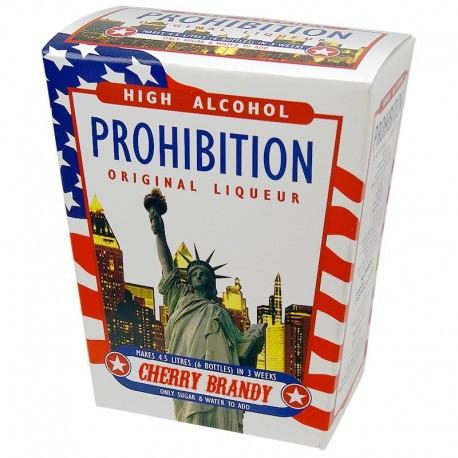 Cherry Brandy Flavour - Prohibition - High Alcohol Spirit Kit - Original
