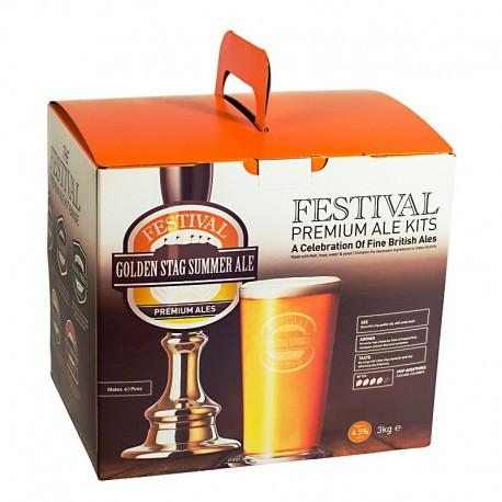 Festival Ales - Golden Stag Summer Ale - 40 Pint Beer Kit