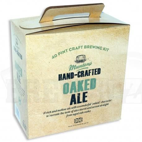 Muntons Hand Crafted - Oaked Ale - 40 Pint Beer Kit