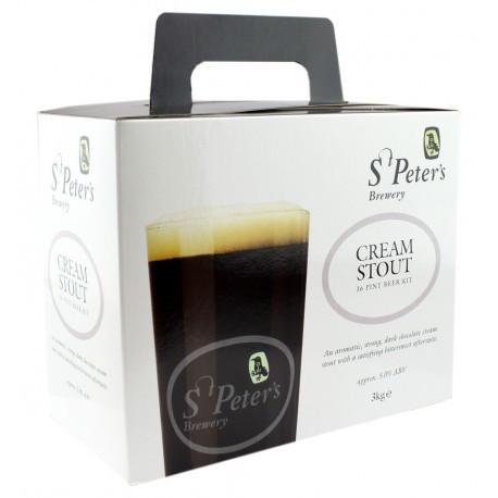 St Peters - Cream Stout - 36 Pint Beer Kit