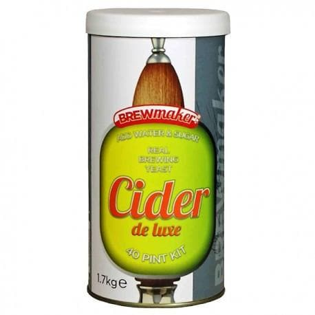 Brewmaker - Cider De Luxe - 40 Pint Cider Kit