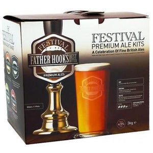 festival-ales-father-hooks-40-pint-beer-kit for sale