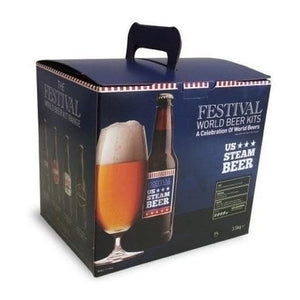 festival-world-us-steam-beer-40-pint-beer-kit for sale