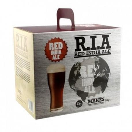 American Ales - Red India Ale R.I.A - 40 Pint Beer Kit