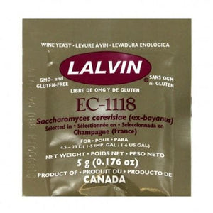 lalvin-ec-1118-champagne-sparkling-wine-yeast-5g- for sale