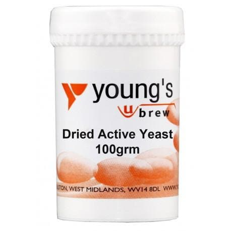 Dried Active Yeast for Winemaking and Brewing - 100g