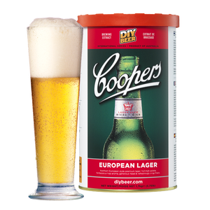 Coopers - European Lager - 40 Pint Beer Kit