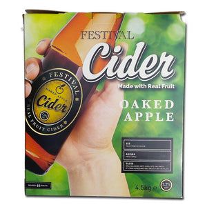 Festival Ales - Oaked Apple Cider - 40 Pint Cider Kit
