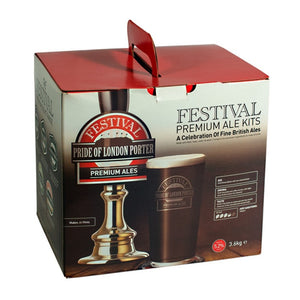 Festival Ales - Pride of London Porter - 40 Pint Beer Kit