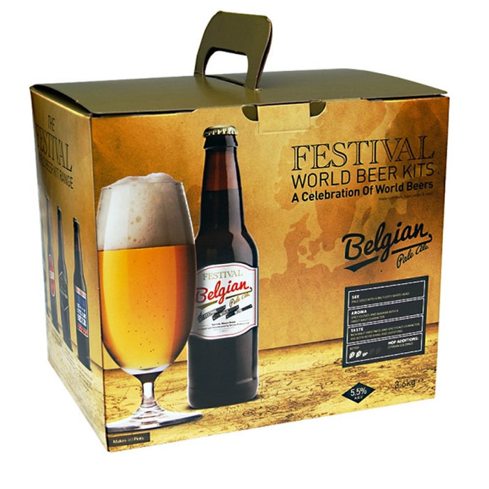 Festival World - Belgian Pale Ale - 40 Pint Beer Kit