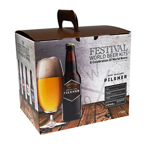 Festival World - New Zealand Pilsner - 40 Pint Beer Kit