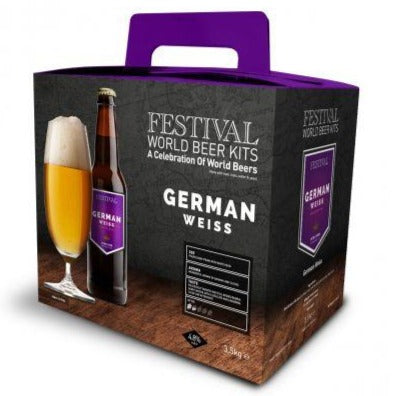 Festival World - German Weisse - 32 Pint Beer Kit