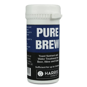 Harris Filters - Pure Brew - Yeast Nutrient & Water Treatment