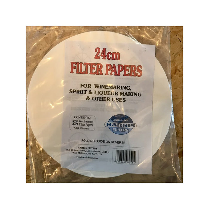 Harris 24cm Filter Papers - 25 Pack