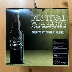 Festival World - American Passion Fruit Pilsner - 40 Pint Beer Kit