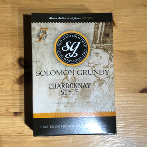 Solomon Grundy Gold - Chardonnay - 7 Day White Wine Kit - 30 Bottle