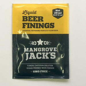 Beer Finings - Mangrove Jacks - Sachet to Treat 23L - Vegan Friendly