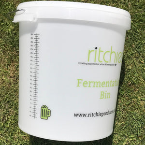33 Litre Ritchies Fermentation Bucket + Lid & Grommet for an Airlock