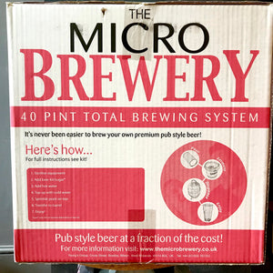 Micro Brewery Starter Kit with American Amber Ale