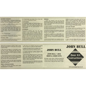 John Bull - Best Bitter - 40 Pint Beer Kit