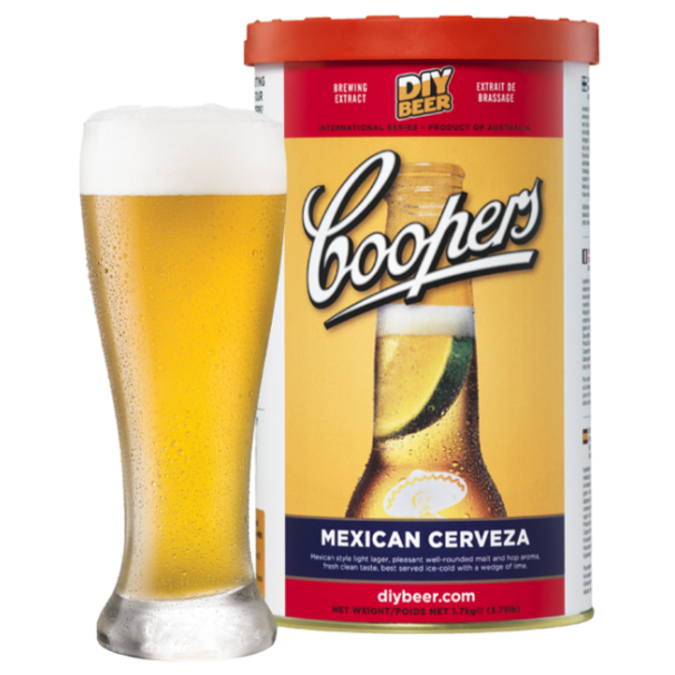 Coopers - Mexican Cerveza - 40 Pint Beer Kit