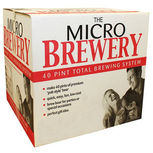 Micro Brewery Starter Equipment Package for Beer, Lager or Cider - No Ingredients
