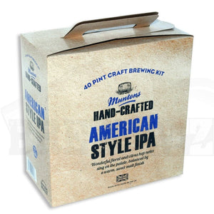 Muntons Hand Crafted - American IPA - 40 Pint Beer Kit