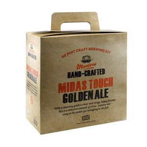 Muntons Hand Crafted - Midas Touch - 40 Pint Beer Kit