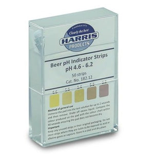 Harris Filters - Beer pH Acid Indicator Strips