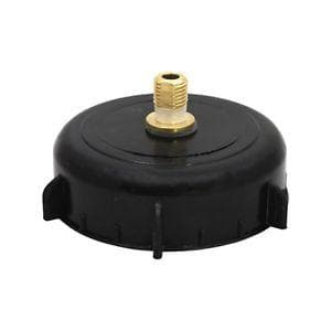 "4"" Cap with Hambleton Bard Style CO2 valve for King Keg Barrel"