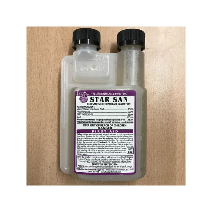 Star San - No Rinse Steriliser - 8oz (US) - 236ml