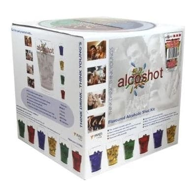 Vodka RedBull Flavour - Alcoshot Starter Kit - Mixed Fruit