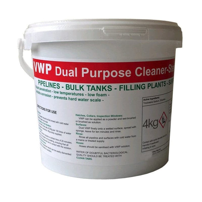 VWP Cleaner & Steriliser - 4kg