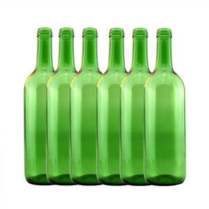 Wine Bottles Green 750ml (15) - Glass
