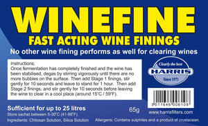Harris Filters - Winefine - Fast Acting Wine Finings