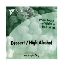 youngs-dessert-high-alcohol-wine-yeast-5g for sale