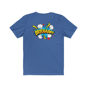 "TSC ""BRRAAAP!"" Two Sided, Cotton Crew Tee"