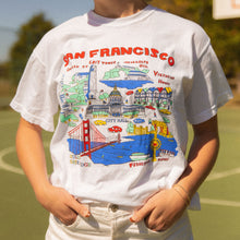 Load image into Gallery viewer, San Francisco Map Shirt